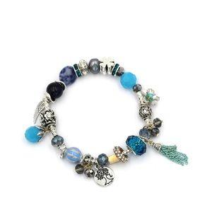 Colorful lucky bead bracelet